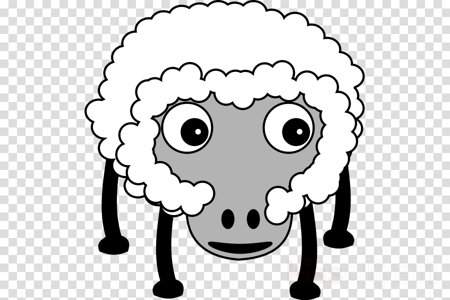Download Karikatur Domba Clipart Sheep Borders And Frames Clip Art