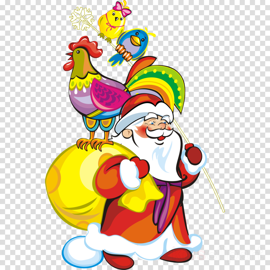 Ded Moroz clipart Ded Moroz Santa Claus Christmas Day