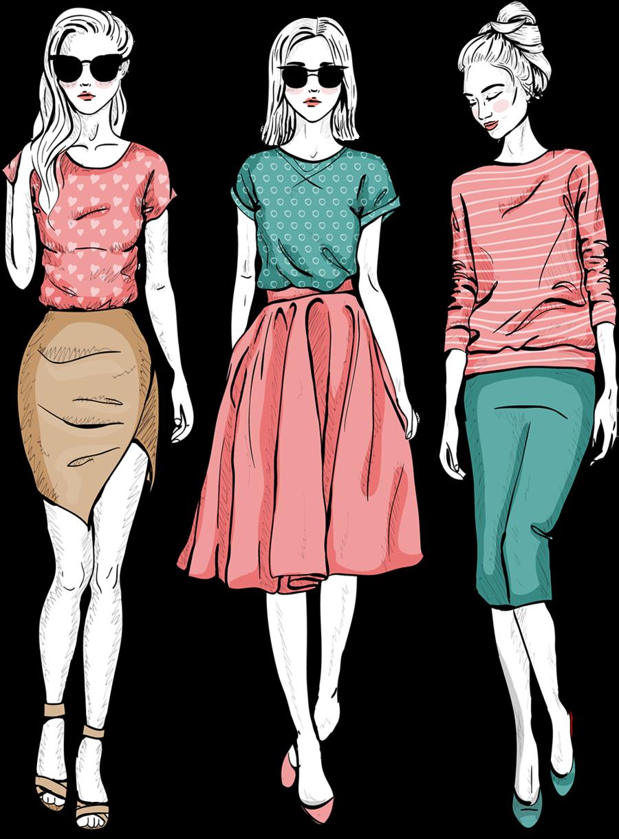 Design Background Clipart Fashion Clothing Illustration Transparent Clip Art