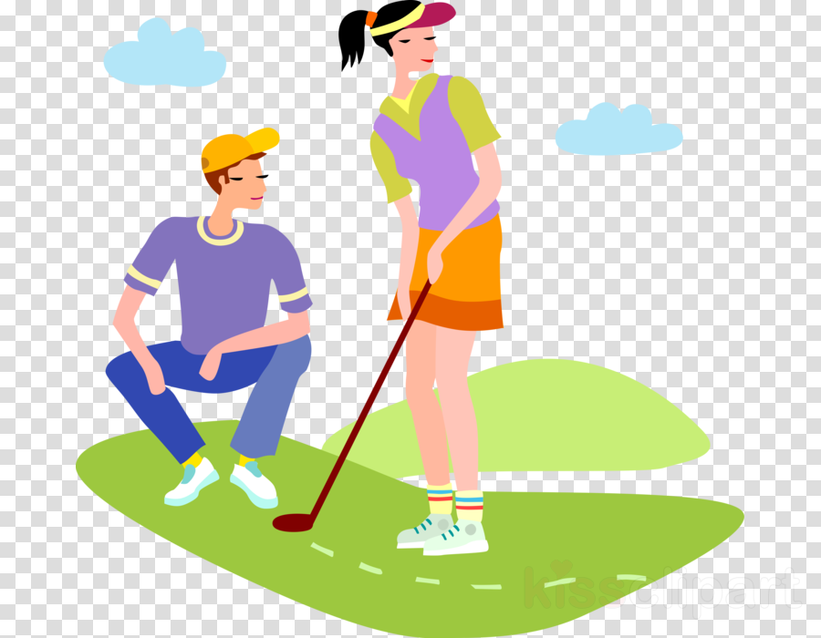Golf illustration. Background clipart clothing transparent