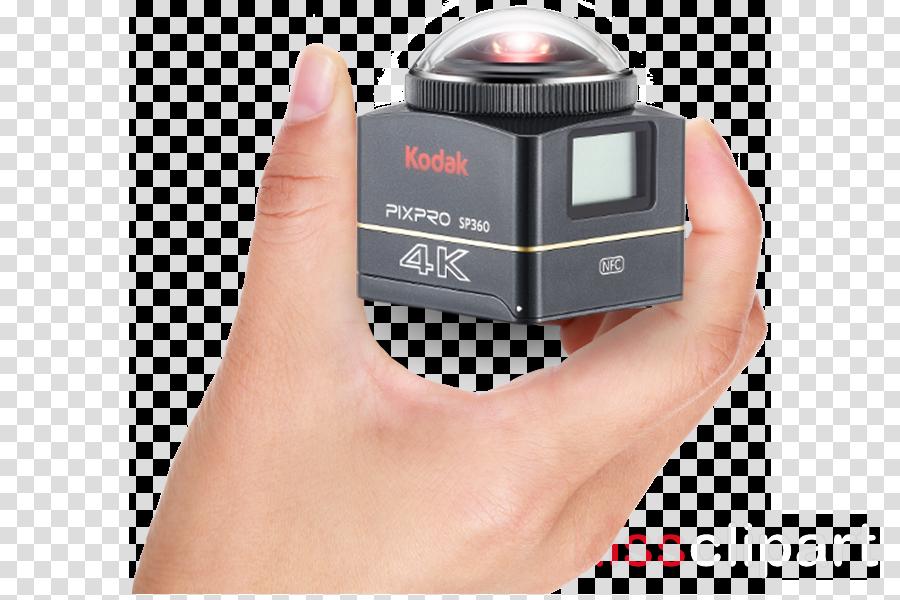 Download kodak pixpro sp360 4k - single vr camera clipart