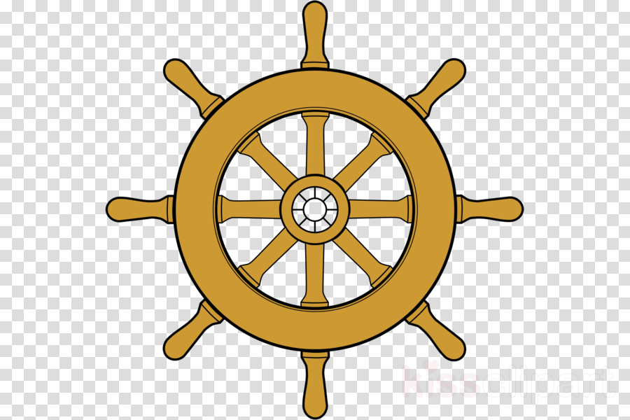 Ship Steering Wheel Background