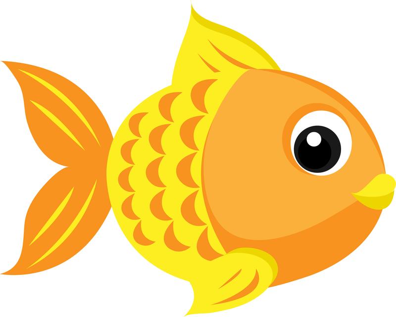 Orange Fish Clip Art