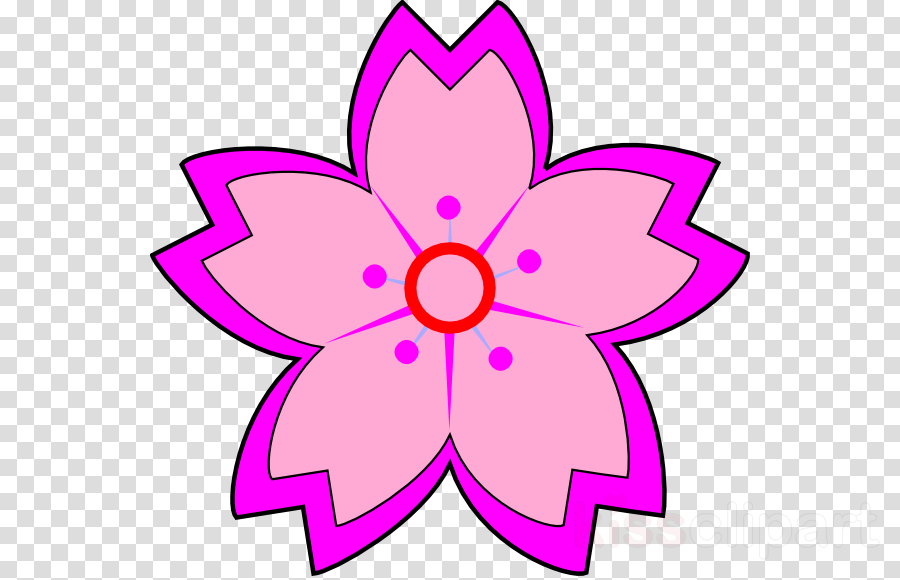sakura flower clipart Cherry blossom Flower