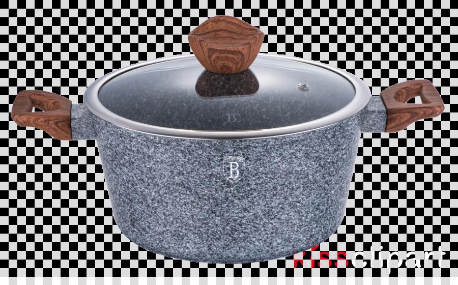 garnek granitowy clipart Cookware Berlinger Haus Marble Coating Casserole Clip art