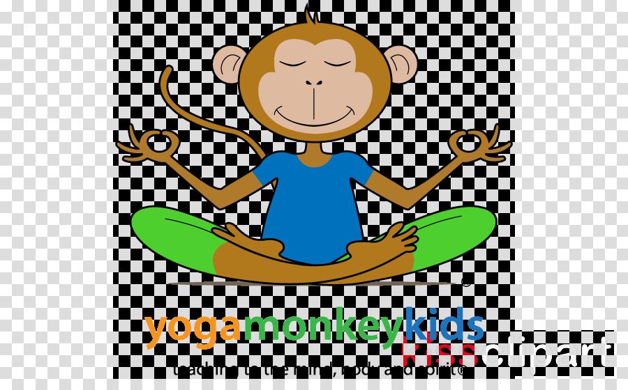 Kids Background Clipart Yoga Child Text Transparent Clip Art