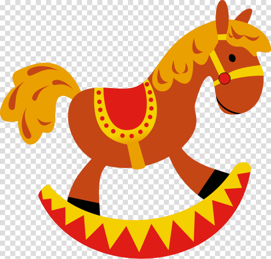 Christmas Horse Cartoon.Christmas Clip Art Clipart Horse Yellow Font