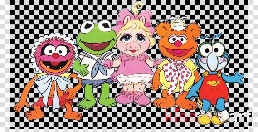 muppet babies clipart Kermit the Frog Gonzo Miss Piggy