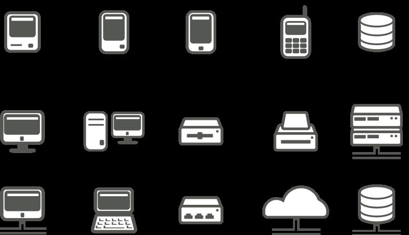 Database Server Icon clipart - Computer, Laptop, Internet