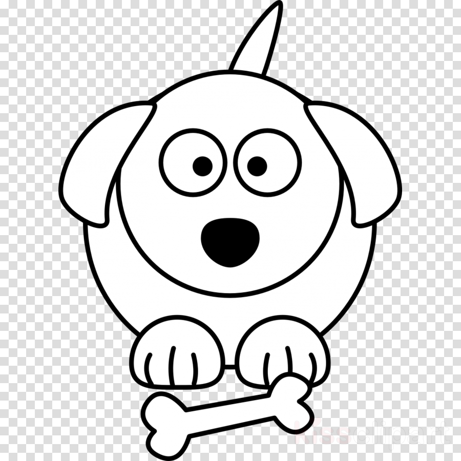 Download Pet Animals Black And White Clipart Dog Puppy Clip Art