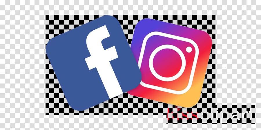 Instagram social media. Facebook clipart text