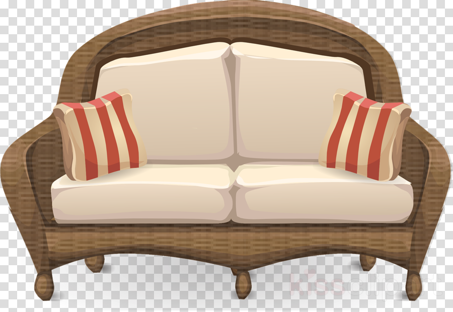 Illustration Furniture Couch Transparent Png Image Clipart Free