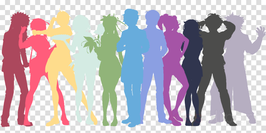 Group Of People Background