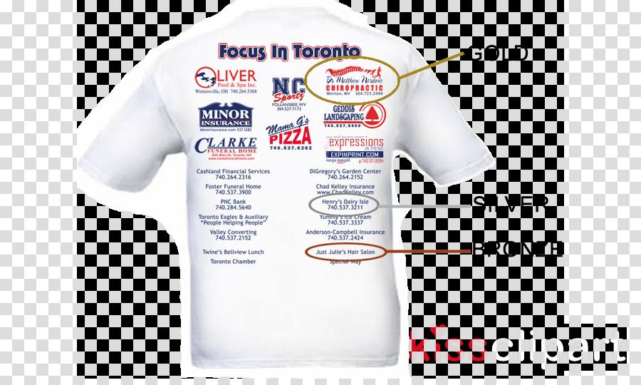 sponsor tshirt clipart T-shirt Royalty-free