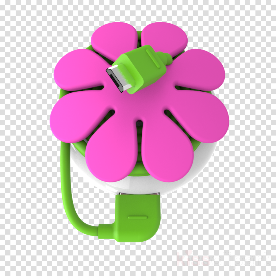Pink Flower Cartoon