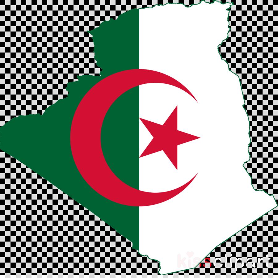 algeria country flag clipart Flag of Algeria National flag