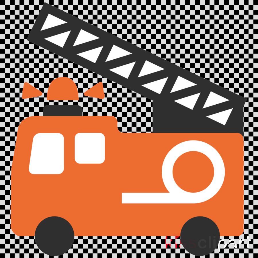 Fire emoji engine. Orange text transparent png