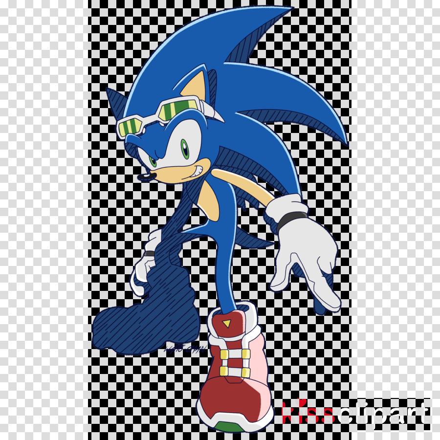 Sonic The Hedgehog Clipart Cartoon Line Font Transparent Clip Art