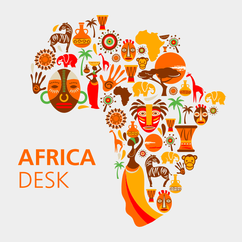 Floral Flower Background clipart   Africa, Art, Illustration