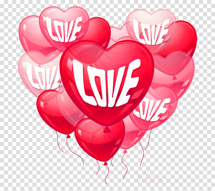 Heart Balloon Love Transparent Png Image Clipart Free Download