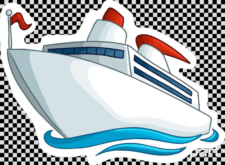 Boat Cartoon Clipart Ship Boat Boating Transparent Clip Art