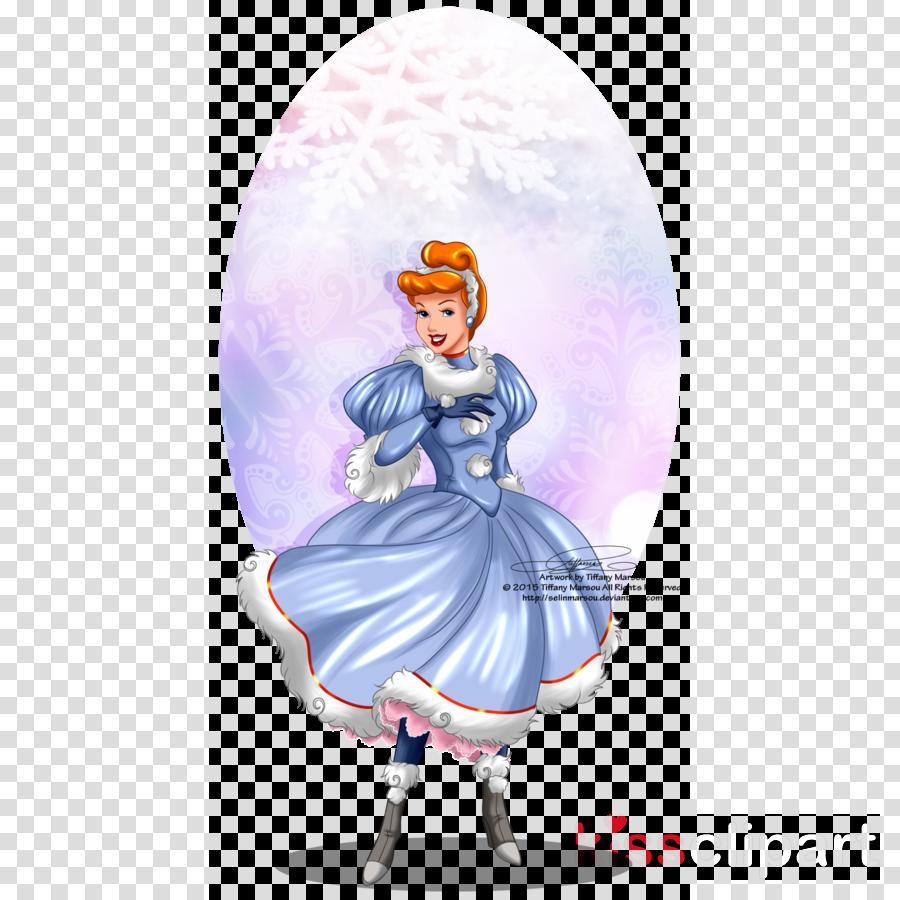 cinderella winter clipart Cinderella Ariel Rapunzel