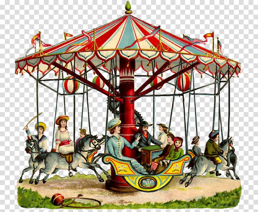 Carousel Party Fair Clip art