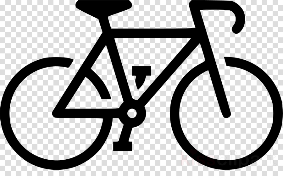 Black And White Frame Clipart Bicycle Cycling Text Transparent Clip Art