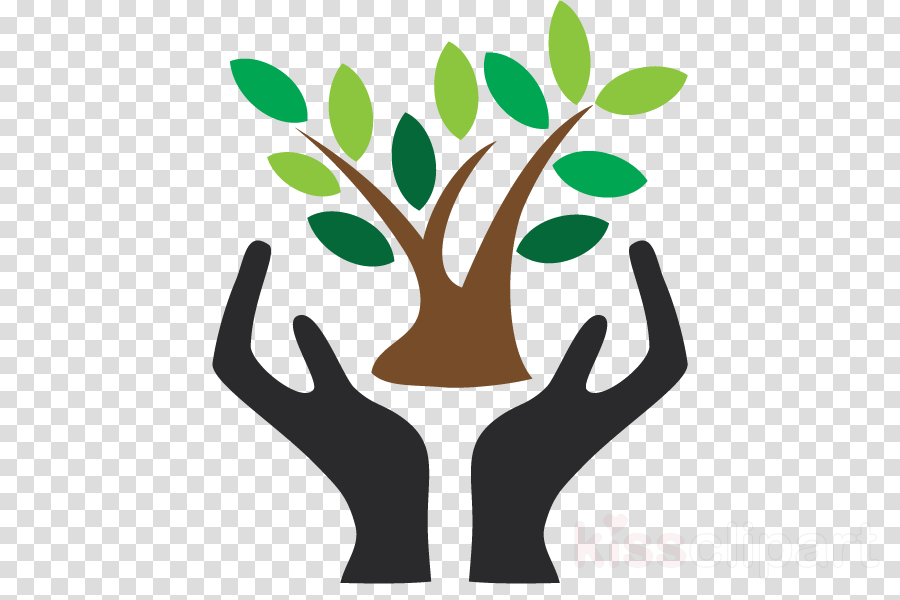 Leaf Hand Tree Transparent Png Image Clipart Free Download