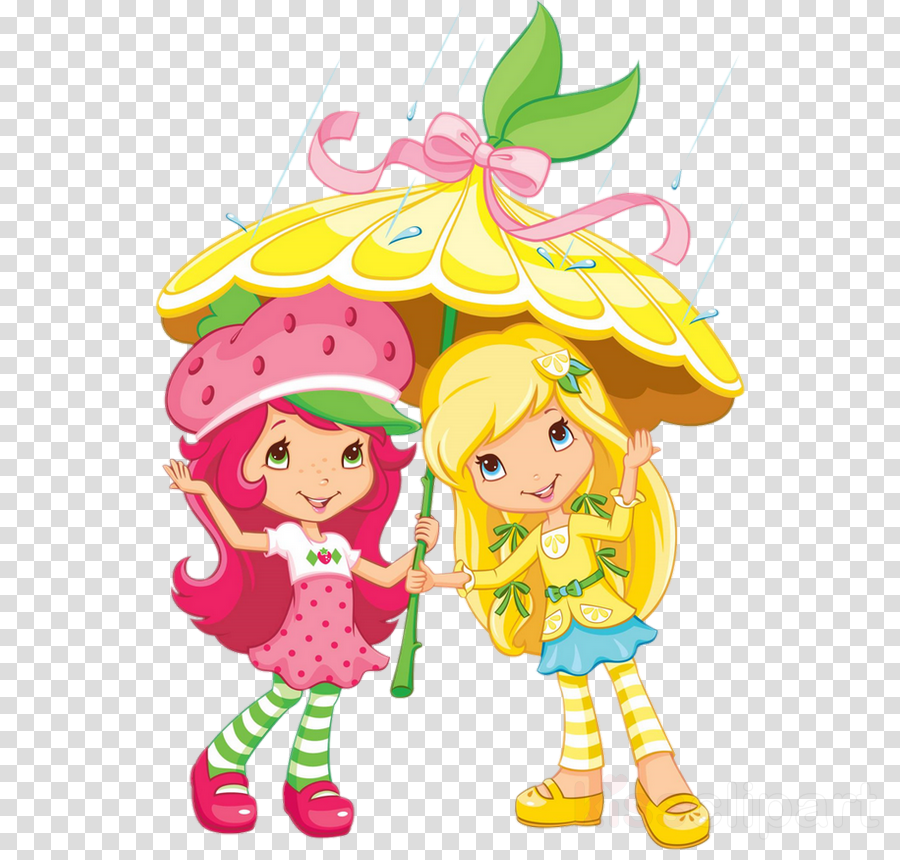 Strawberry Shortcake Cartoon Clipart Cupcake Strawberry Cake