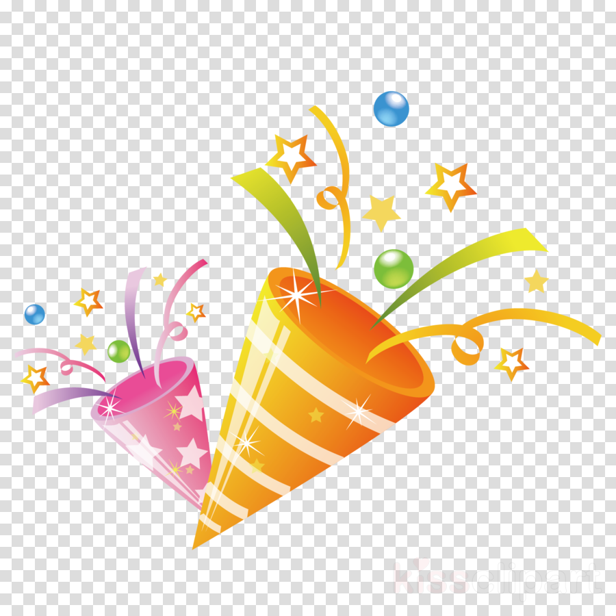 Confetti birthday. Party background clipart