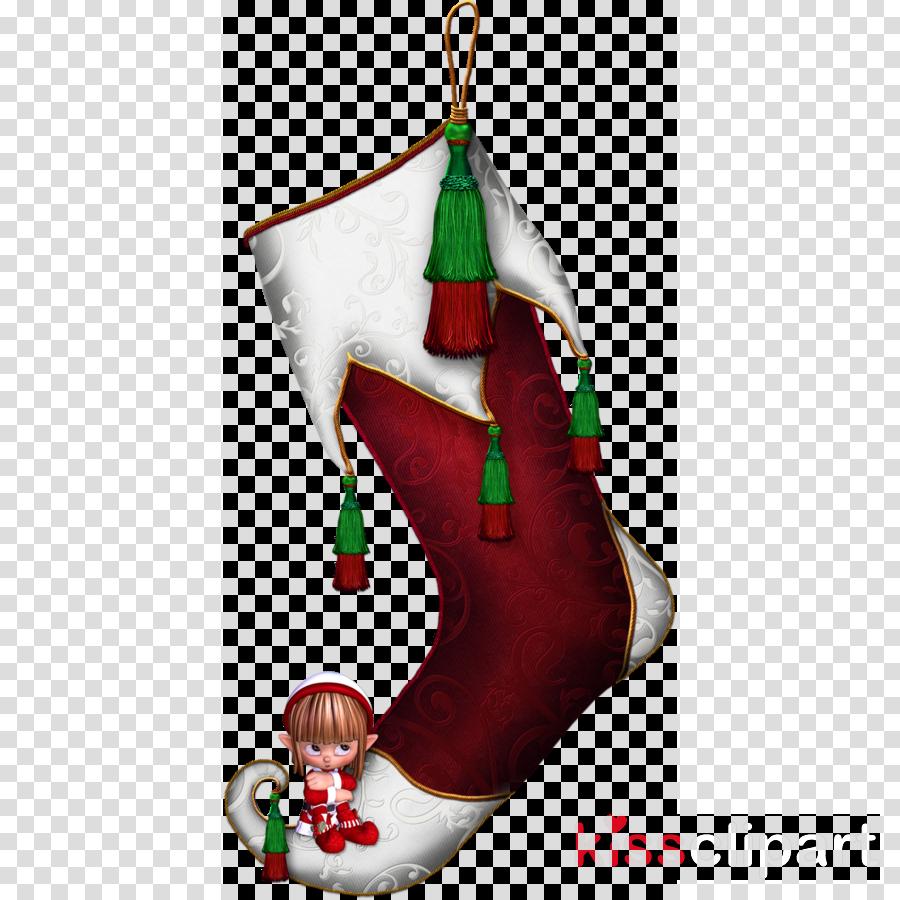 Christmas Stocking Cartoon