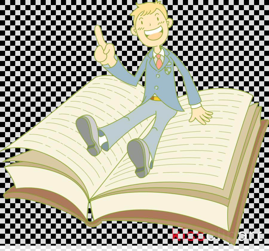 Book information. Cartoon clipart presentation transparent