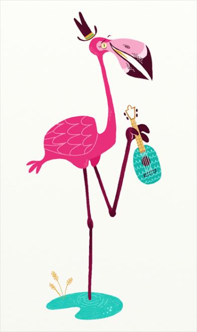 Flamingo party. Pink flamingotransparent png image