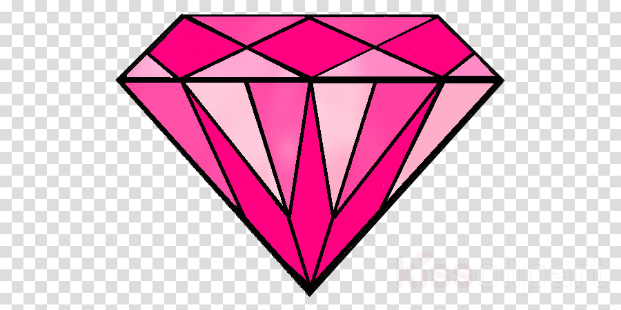 Diamond pink. Heart pattern background clipart