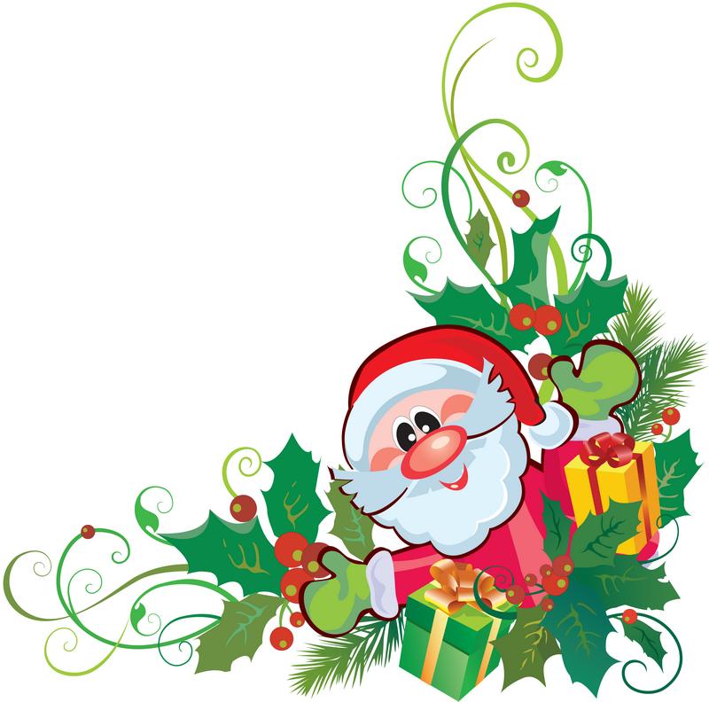 Рисунки для оформления открытки на новый год