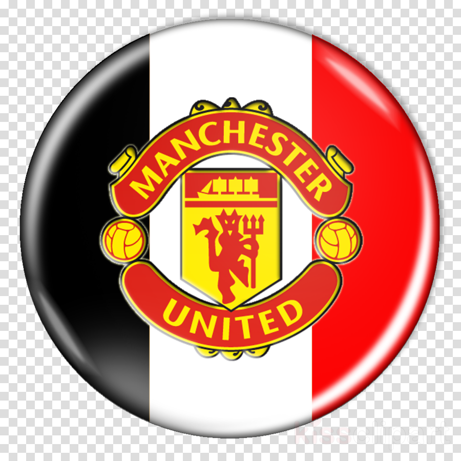 Manchester United Logo Clipart Football Product Badge Transparent Clip Art