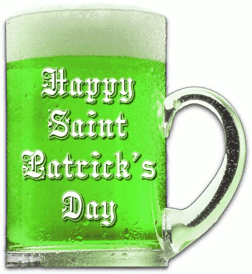 green beer clipart Saint Patrick's Day Beer Mug