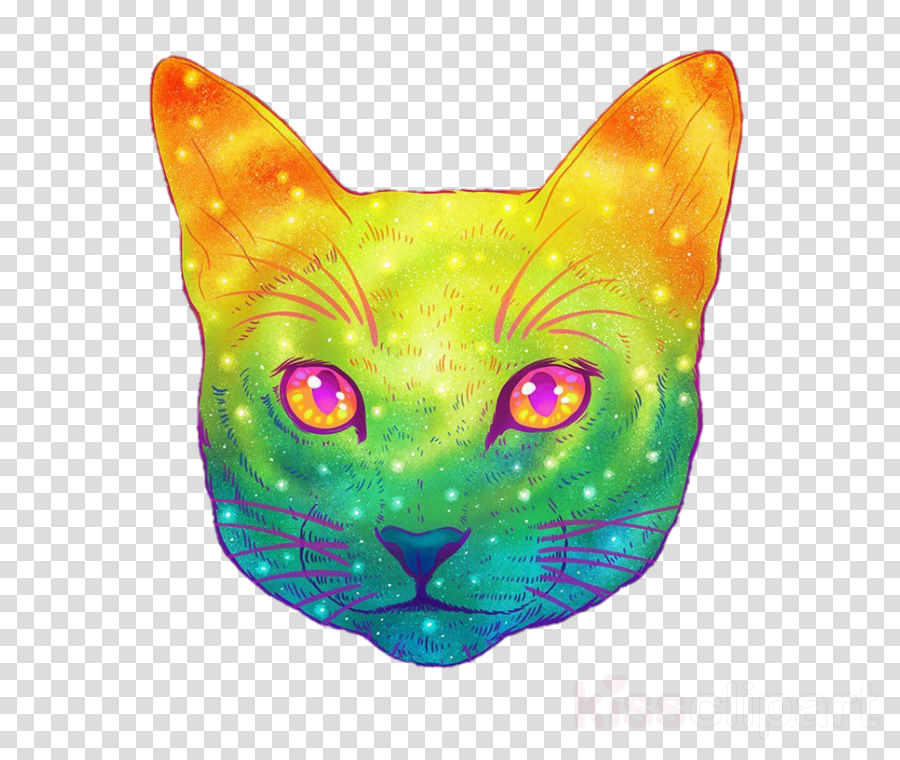 jen bartel galactic cat clipart Kitten Bombay cat
