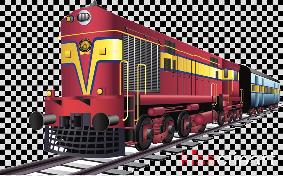 Indian Train Clipart Train Transport Product Transparent Clip Art