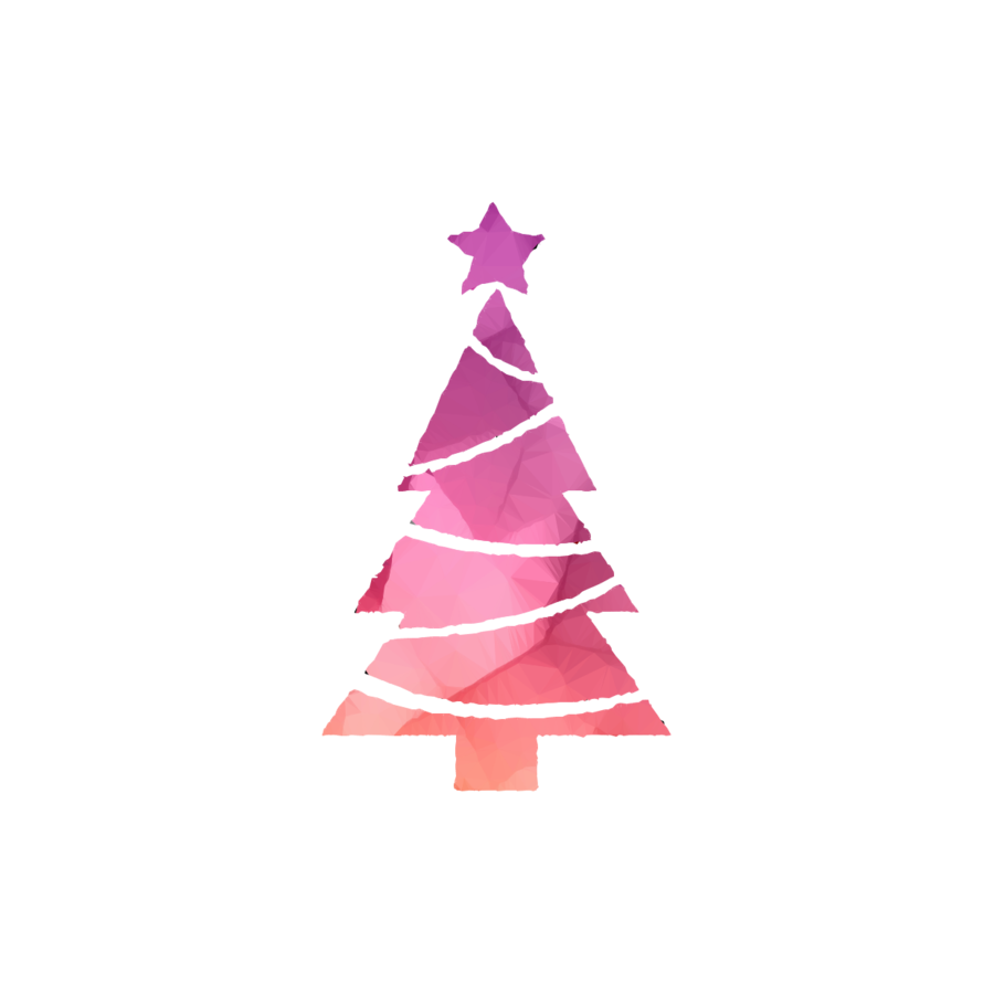 Pink Christmas Tree Transparent Png Image Clipart Free Download