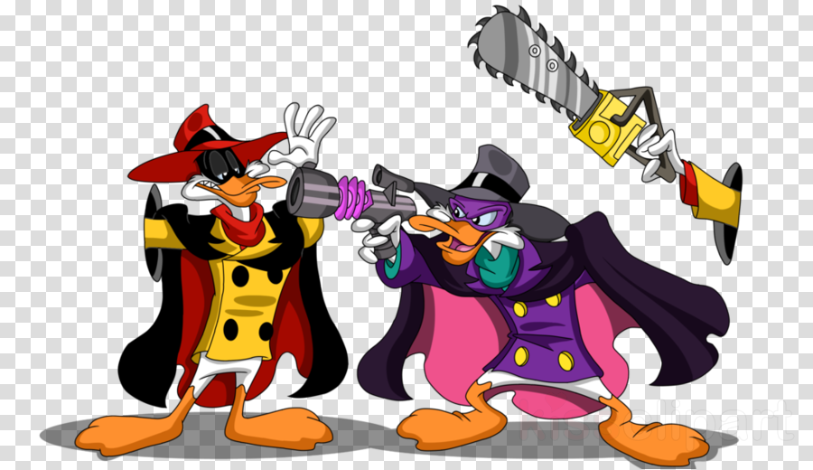 negaduck vs darkwing duck clipart Negaduck Gosalyn Mallard