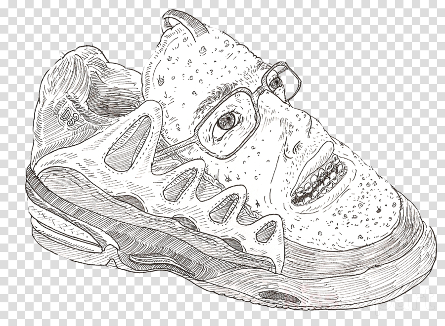 Nike Drawing Clipart Skateboarding Product Drawing Transparent Clip Art
