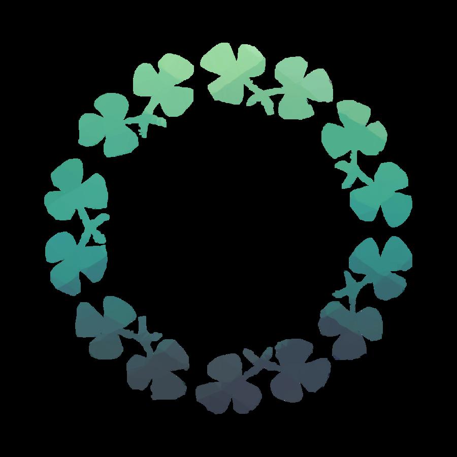 st patricks day monogram frames clipart Saint Patrick's Day Shamrock Mug