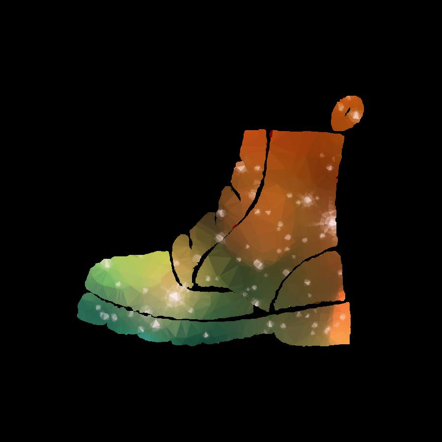 outdoor shoe clipart Boot Footwear Suede