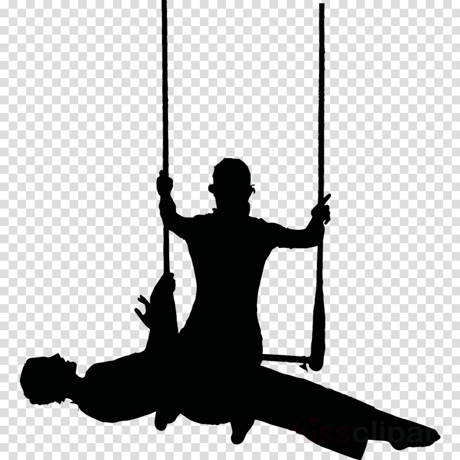 silhouette circus png clipart Silhouette Trapeze