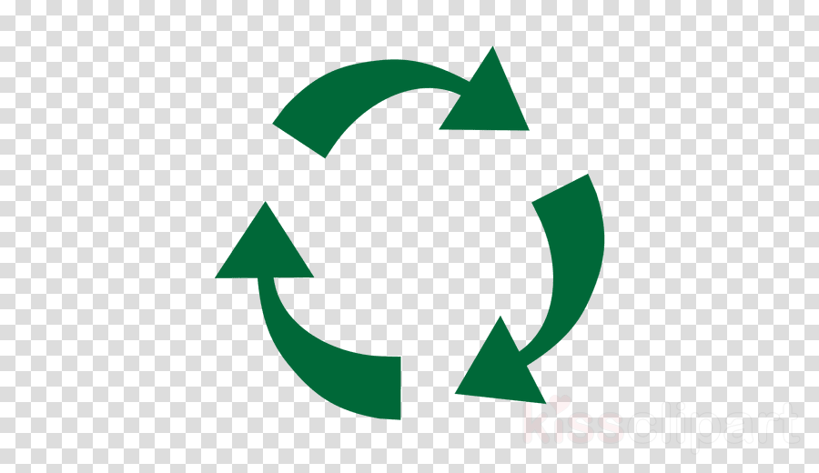 vector recyclable logo png clipart Recycling symbol