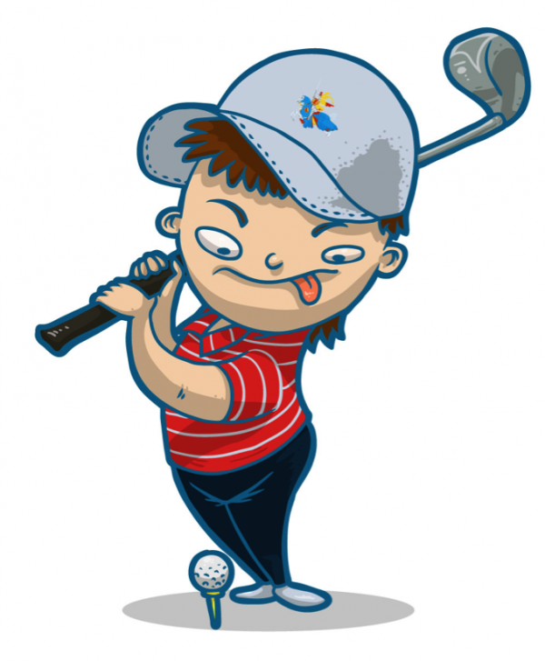 Golf Background Clipart Cartoon Golf Illustration Transparent Clip Art