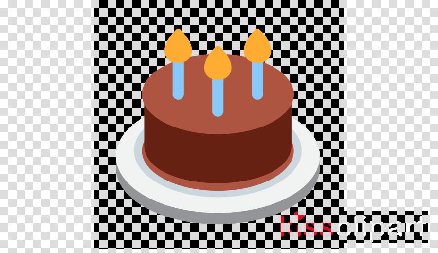 Birthday Cake Emoji Png Clipart Chocolate Cupcake