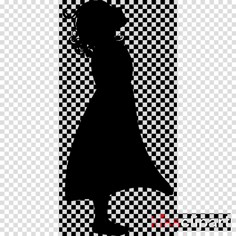 Little girl silhouette png clipart silhouette girl